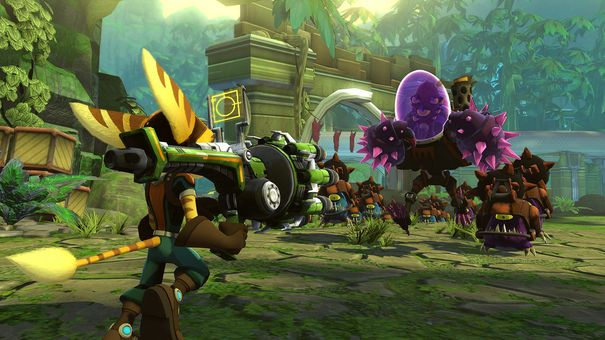 Insomniac sick of waiting for Vita port of Ratchet & Clank Q-Force