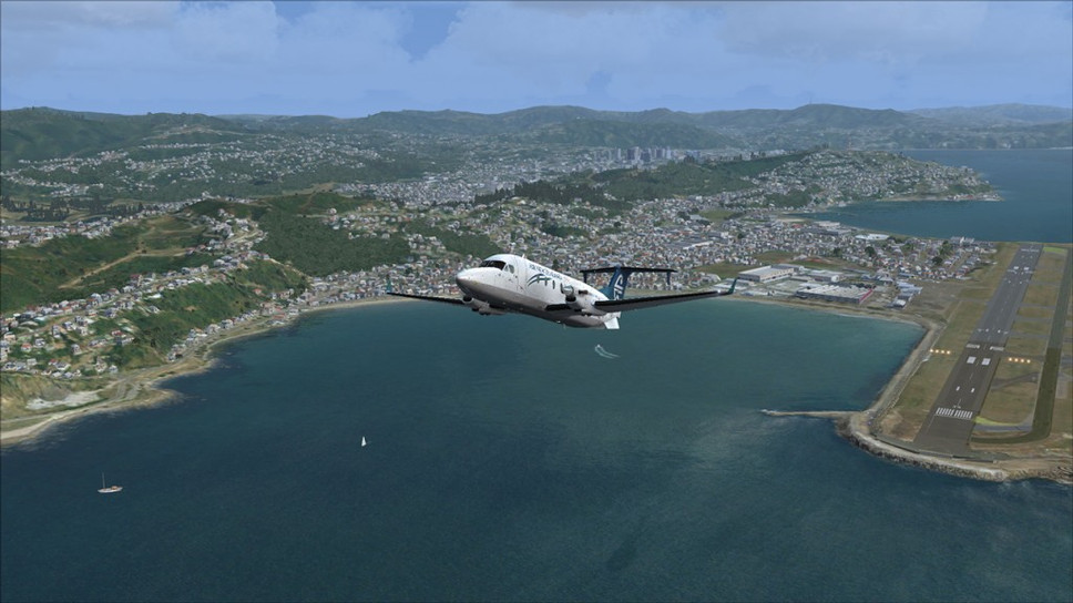 The man recreating NZ in flight sims