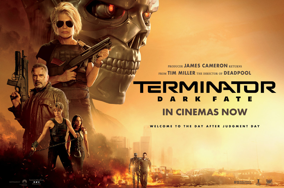 Win 1 of 4 Terminator: Dark Fate Prize Packs - Update: Comp now closed!