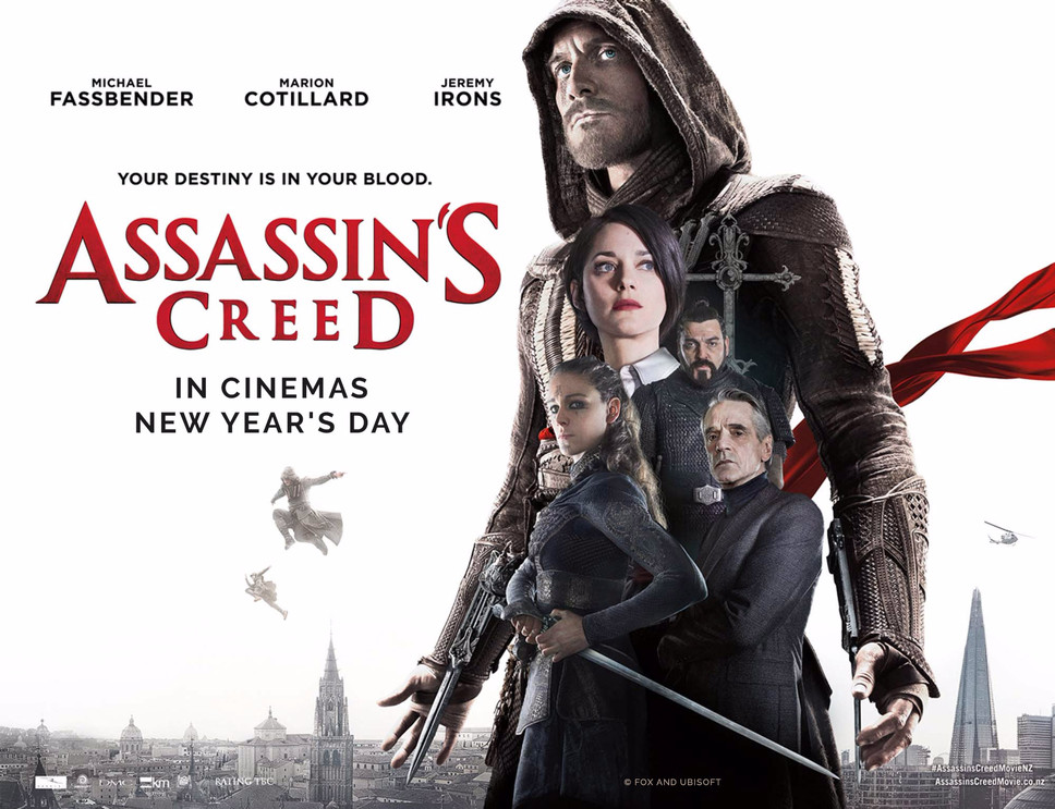 Win a PlayStation 4 bundle courtesy of the new Assassin's Creed movie