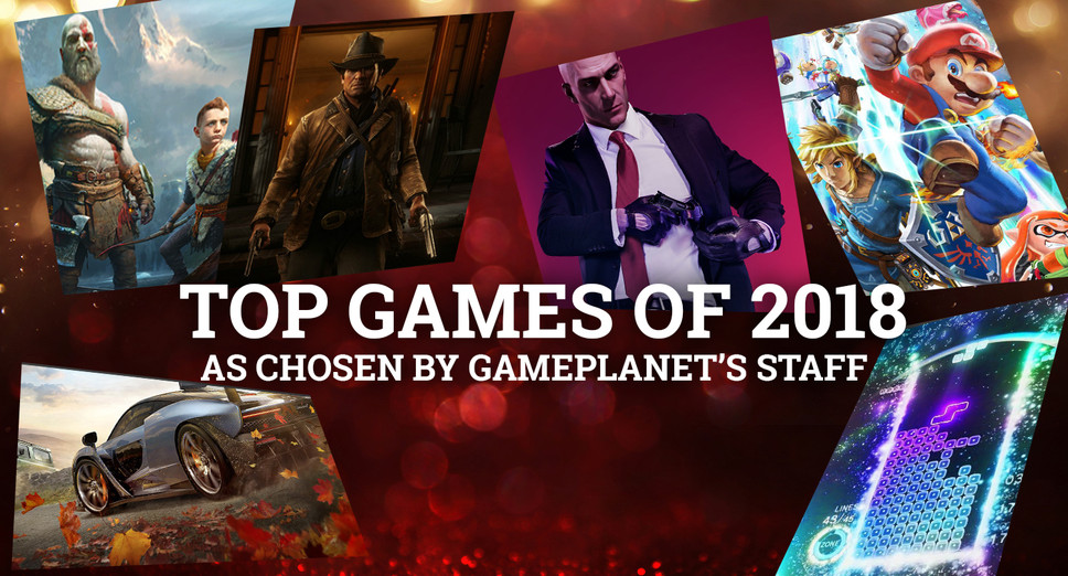 GP Writers Top Games of 2018