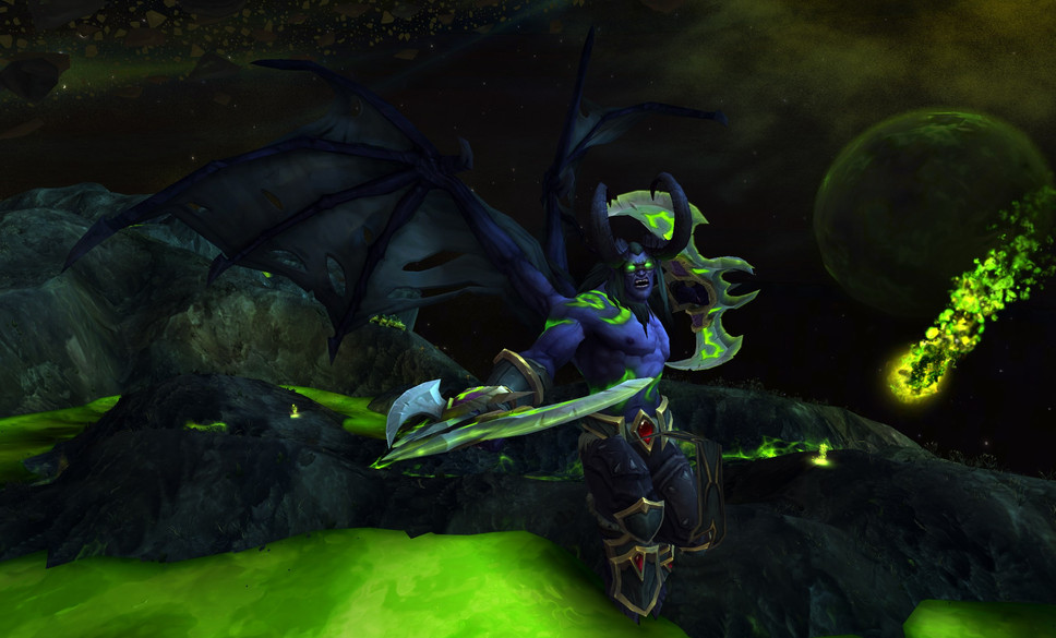 Jump into the World of Warcraft: Legion beta