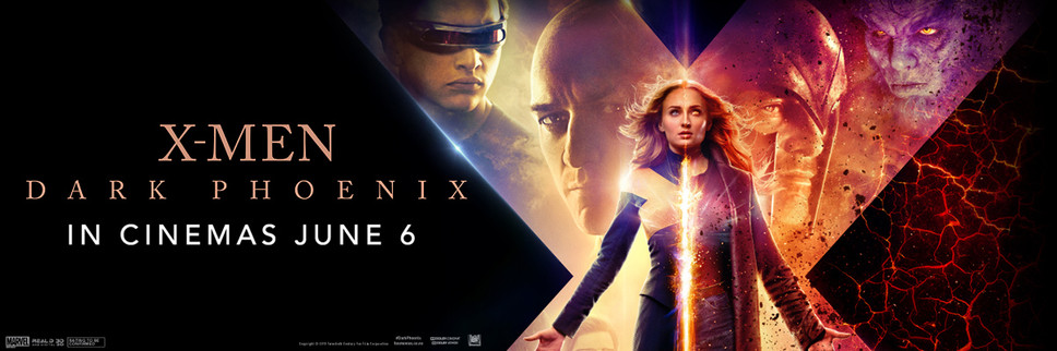 Win an awesome X-Men: Dark Phoenix Prize pack with a double movie pass! Update: Comp now closed