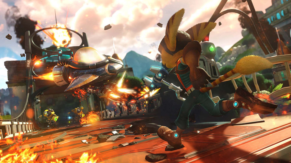 Ratchet & Clank hands-on