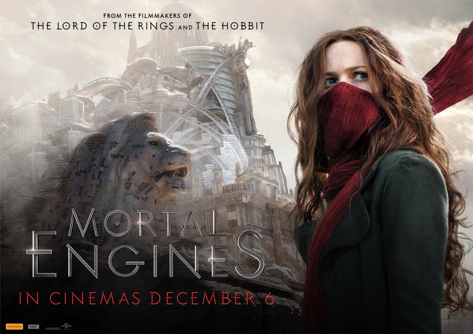 Win 1 of 5 double passes to Mortal Engines! Update: Comp now closed. Winners have been drawn!