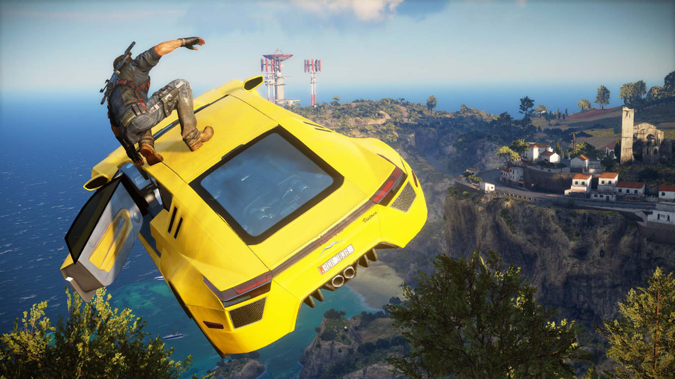 Just Cause 3 is a redlining chaos engine that knows only destruction