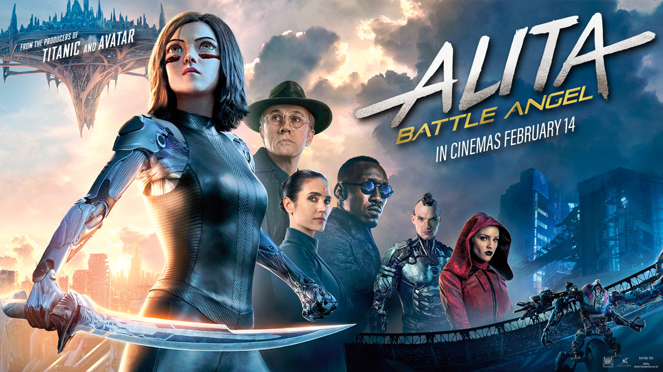Win 1 of 4 Alita: Battle Angel Prize Packs! Update: Comp now closed.