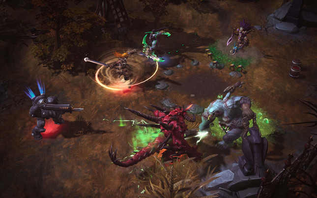 Blizzard's MOBA mash-up Heroes of the Storm is now live