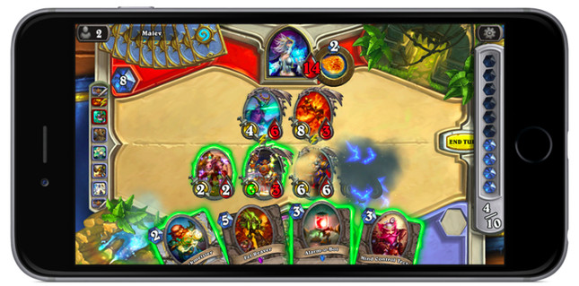Hearthstone now available for iPhone and Android phones