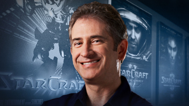 Mike Morhaime has stepped down as Blizzard president