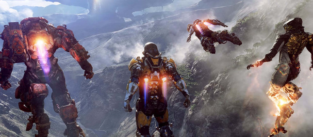 Sony uploads Anthem footage with PS button prompts over Xbox