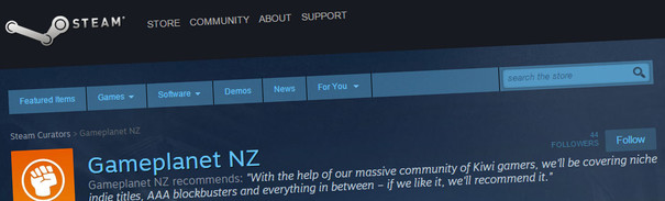 We'd like your recommendations for Gameplanet's Steam Curator page