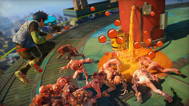 Caffeinated slide-shooter Sunset Overdrive all but confirmed for PC