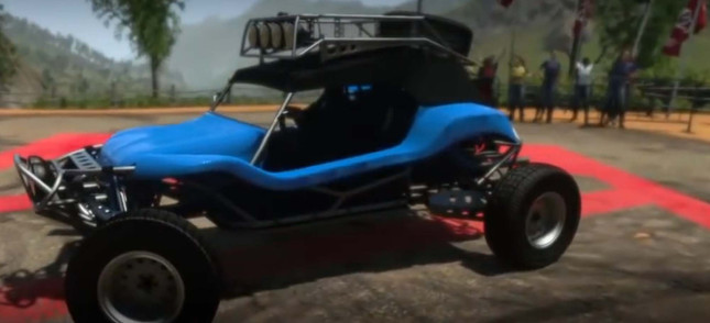 Leaked DriveClub footage shows MotorStorm buggies are on the way