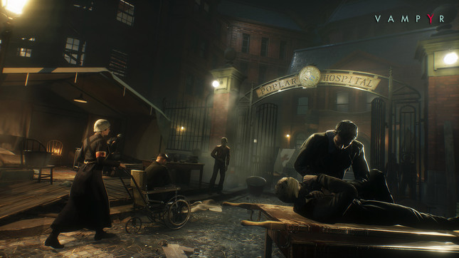 A technical issue has delayed Dontnod's undead RPG Vampyr