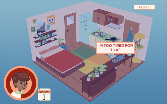 Robin, a free Kiwi-made game about chronic fatigue syndrome, is out today