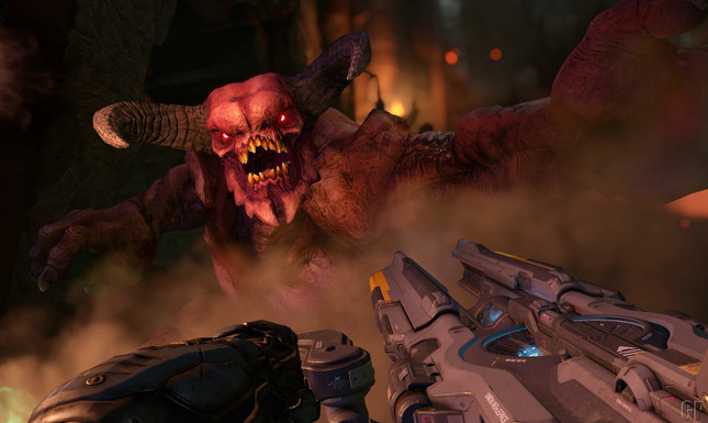 Don't worry; Doom runs at 60fps in full HD on all platforms