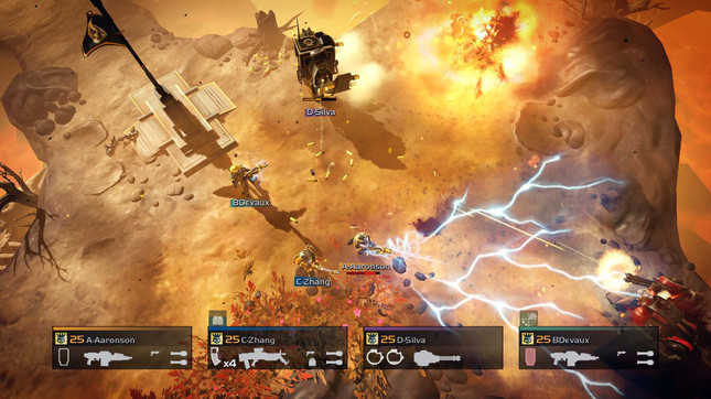 Hardcore co-op shooter Helldivers is coming to PC