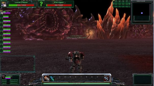 Universe mod transforms StarCraft II into an MMO-style RPG