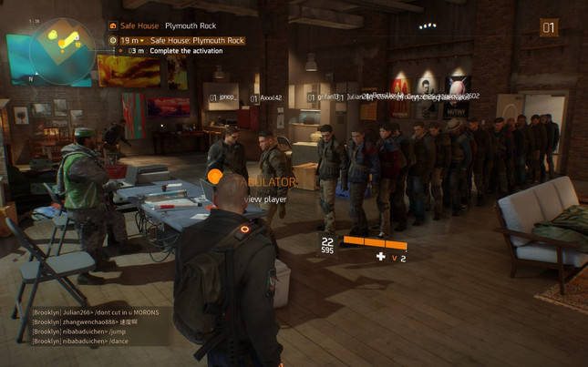 The Division's first area has a surprising amount of queueing