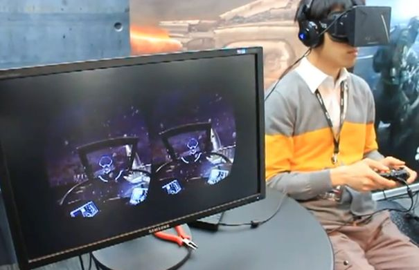Oculus Rift space dogfighting game shows potential of VR headset