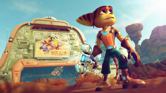 Here's the first footage of Ratchet & Clank on PS4