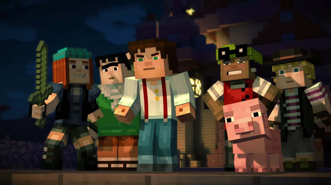 Patton Oswalt Leads Minecraft Story Mode Voice Cast Gameplanet New Zealand