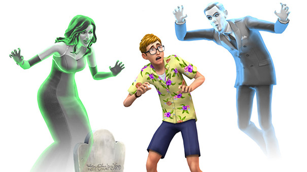 Ghosts, Star Wars, and pools coming to The Sims 4