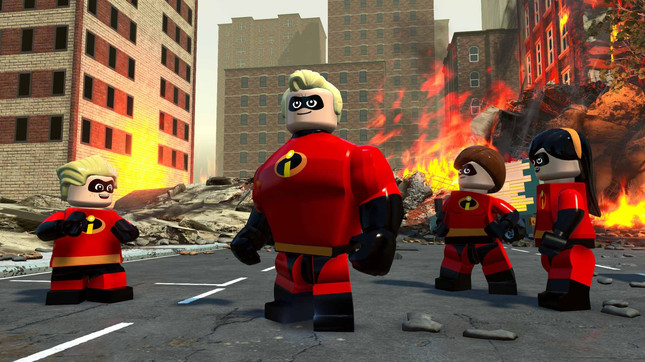 LEGO The Incredibles Video Game Announced