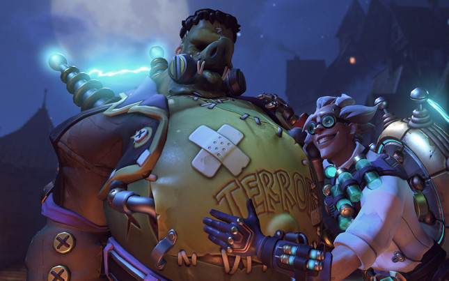 Overwatch's first PvE event gets into the Halloween spirit