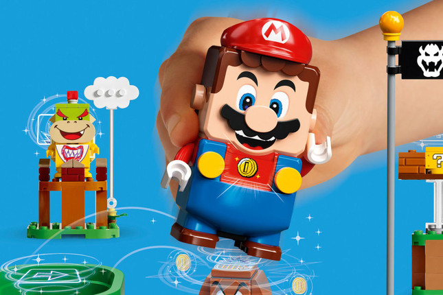 Mario meets LEGO in new Nintendo collaboration