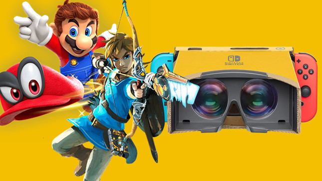 Nintendo will add VR modes to Zelda and Mario on Switch