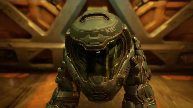 Doom's single player campaign a lucky 13 hours long