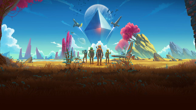The No Man's Sky Beyond update is arriving soon