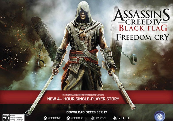 AC IV: Black Flag story DLC coming this month
