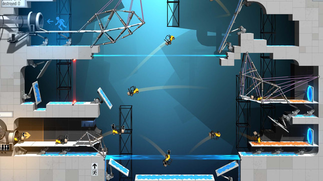 Portal returns in standalone Bridge Constructor mashup
