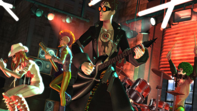 Rock Band 4 is compatible with these legacy instruments
