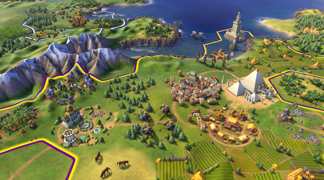 "Civilization VI to launch in October with ""exciting new elements"""