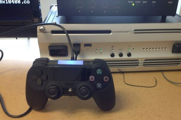 This is probably a prototype PlayStation 4 controller