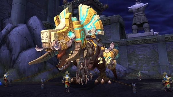 WoW's Thunder King patch adds quest hub, a new raid, bosses