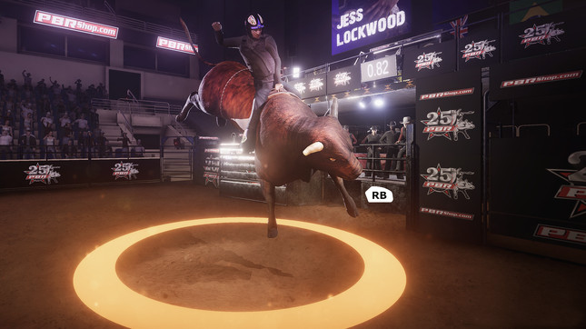 This bull riding game is the only licensed game you should ever play