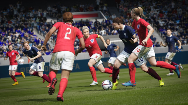 NCAA policy forces removal of women from FIFA 16