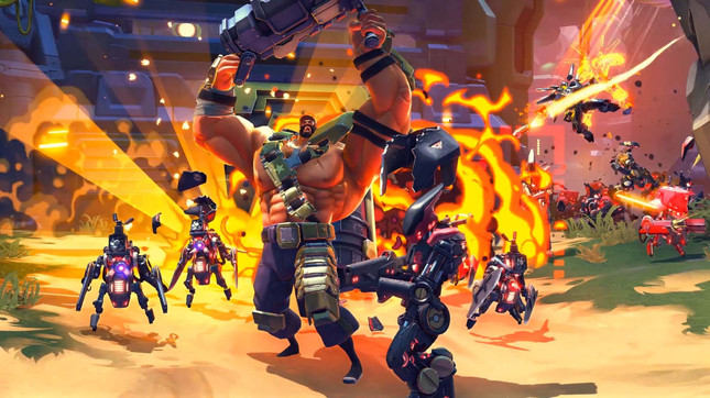 The competitive half of Battleborn is now free to play