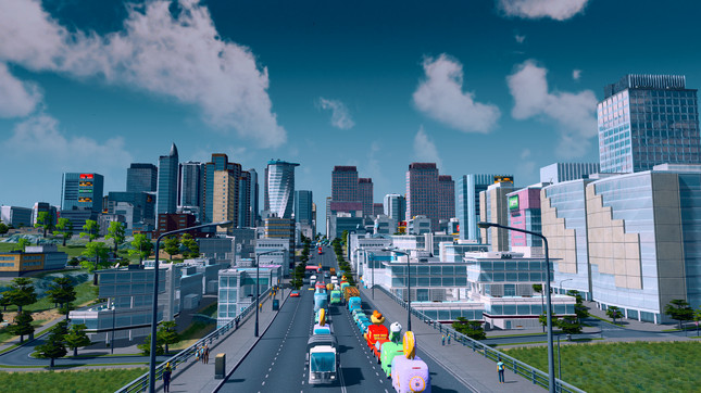 Stockholm using Cities Skylines to design new urban project