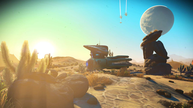 Major No Man's Sky update adds new story and multiplayer
