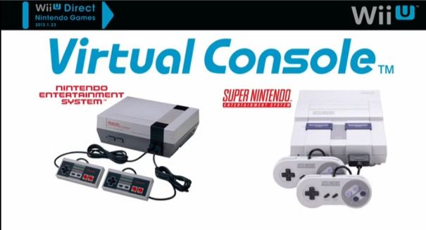Stripped-back Virtual Console coming to Wii U