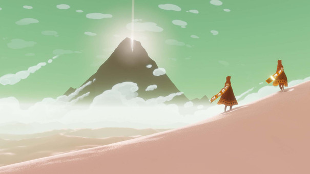 Journey and The Unfinished Swan are coming to PS4