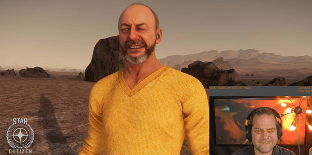 Star Citizen face tech maps your expressions onto your avatar in real-time