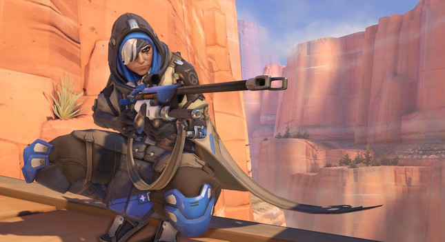 Overwatch introduces battle-scarred support sniper Ana