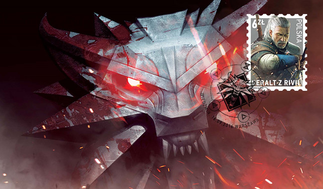 Poland issues official Witcher postage stamp